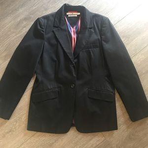 Tommy Hilfiger blazer jacket black size 12 NICE